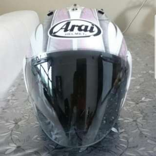 Arai Karen pink helmet