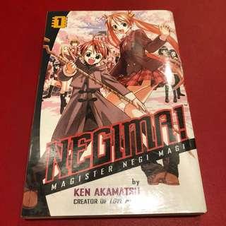 Negima Volume 1