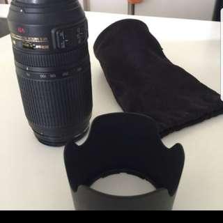 Nikon lens 70-300mm 4.5-5.6
