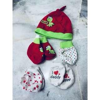 13's pairs MOTHERCARE Newborn Mittens Sets