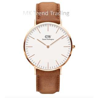 Share This Listing Save Public Comments  Post a New Comment [AUTHENTIC] DANIEL WELLINGTON CLASSIC DURHAM 40MM Gold [2 YEARS WARRANTY]