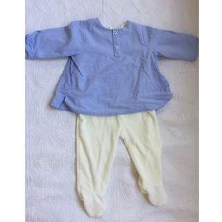 BABY winter pyjama 6 months Brand New
