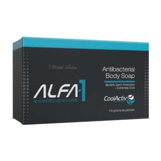 """Antibacterial Body Soap """"ALFA-1"""" 110g for men"""