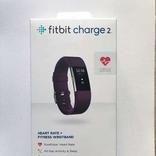 Fitbit Charge 2 - small, purple (SEALED)