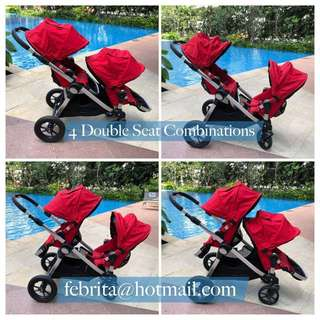 Rarely Used Double Stroller - City Select