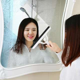 Portable Mirror/Glass Cleaner for Bathroom/Cars/Tabletop