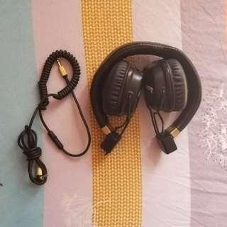 Marshall Major 2 II (On Ear) - Dual, Bluetooth and removable audio jack headphone
