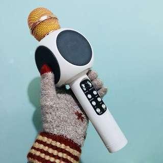 WSTER latest model Bluetooth mic speaker LED