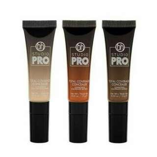 Authentic BH Cosmetics STUDIO PRO Total Coverage Concealer