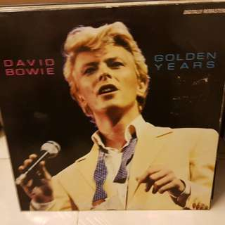 David Bowie Golden Years Vinyl LP Original Pressing Rare