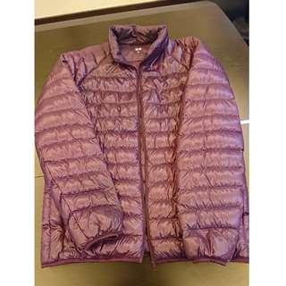 Uniqlo purple jacket