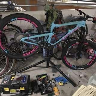 Mtb/fatbike/roadbike bike servicing and installation service