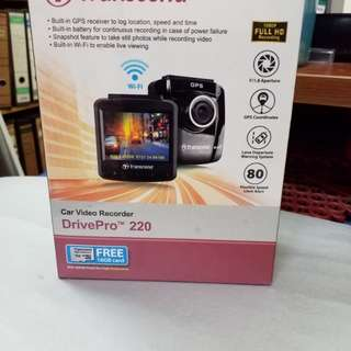 Car video recorder  (Transcend)