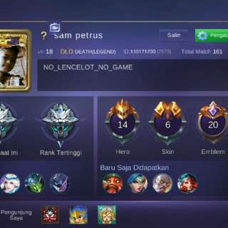 Aku mobile legend