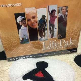 Nuskin LifePak Dietary Supplement 60 packets/box