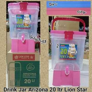 Drink Jar Arizona Lion Star 20 liter