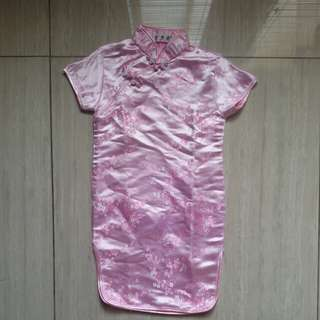 Baju imlek anak perempuan
