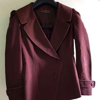 Dark brown blazer