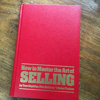 how to master the art of selling (hardbound)