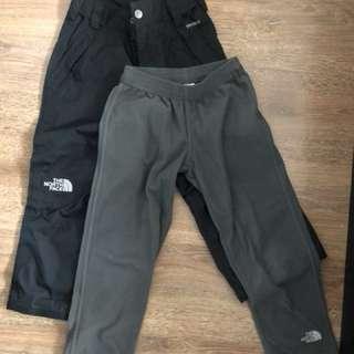 The North Face 男童雪褲
