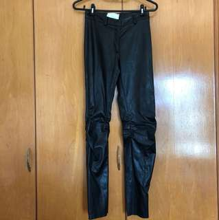 Maison Martin Margiela MMM leather trousers 皮 褲