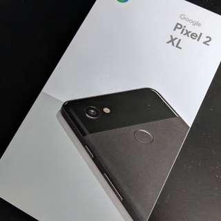Wtt Google Pixel 2 XL 64gb black for Iphone 8 plus 64gb space grey