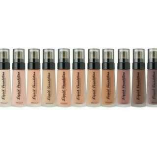 Authentic BH Cosmetics Liquid Foundation
