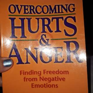 Book on hurt and anger