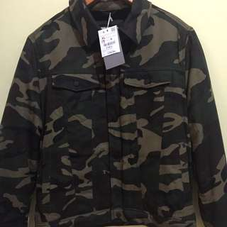 Zara Army look jacket