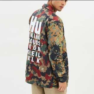 Adidas Pharrell Williams Reversible HU Camo Jacket