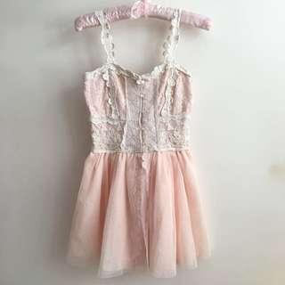 Liz lisa 粉紅色仙女紗裙 日系 Pink dress