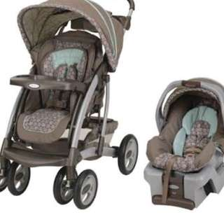 graco carseat and stroller