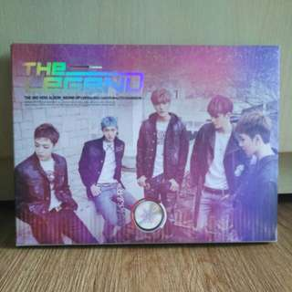 The Legend 2nd Mini Album Sound Up (with Lito Photocard)