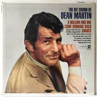 Dean Martin ‎– The Hit Sound Of Dean Martin (1966 US Original - Vinyl is Very Good Plus)