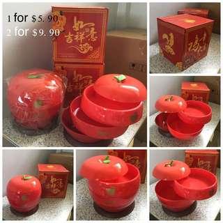 (BN)2 CNY Snack 3 Layer Storage Box