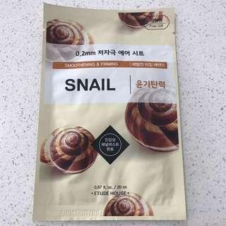 Etude house snail mask