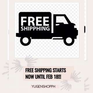 Free shipping starts now!🎉🎉🎉