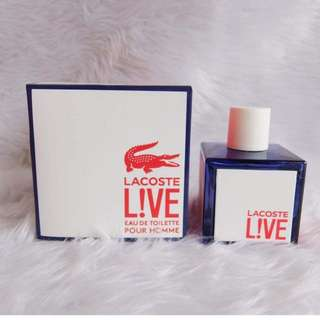 Authentic lacoste live(men)