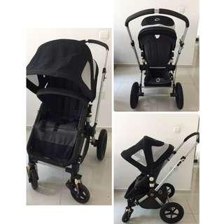 Bugaboo Cameleon and peg perego infant car seat