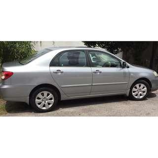 Toyota Altis 1.6 A