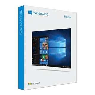 Windows 10 Home Standard 32/64bit