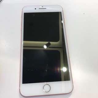 Iphone7 plus 128gb粉紅色 超超新淨,一條花痕都冇