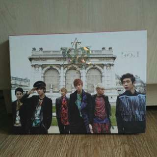 [Pre Loved] Teen Top No.1 Album (with Niel Photocard)