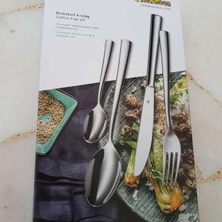 Cutlery 4 pieces set stainless steel dishwasher safe