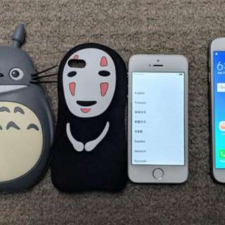 iPhone 5s, Samsung Galaxy S6, Ghibli silicone cases