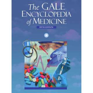 Ebook The Gale Encyclopedia of Medicine, Fifth Edition ( 9 Volume Set )
