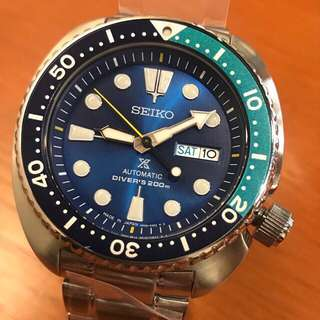Seiko Prospex Blue Lagoon limited edition Turtle SRPB11J1 SRPB11 J version