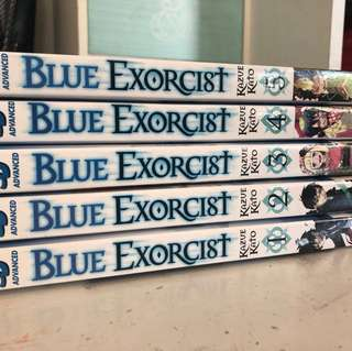 Blue Exorcist 1-5
