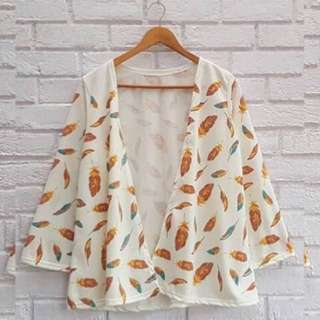 outer kimono daun
