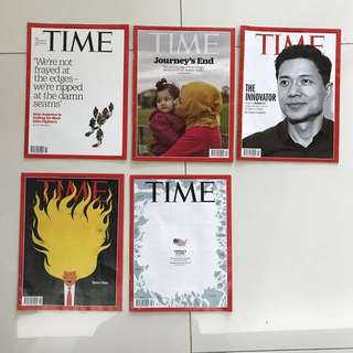 Almost new TIME magazines (update every week)